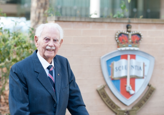 WE REMEMBER SIR RUPERT MYERS 1921-2019