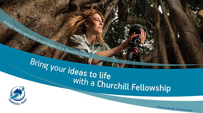 Apply now for a 2019 Churchill Fellowship