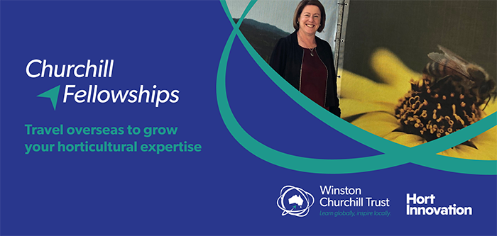 Hort Innovation Churchill Fellow Belinda Hazell shares her Fellowship experience